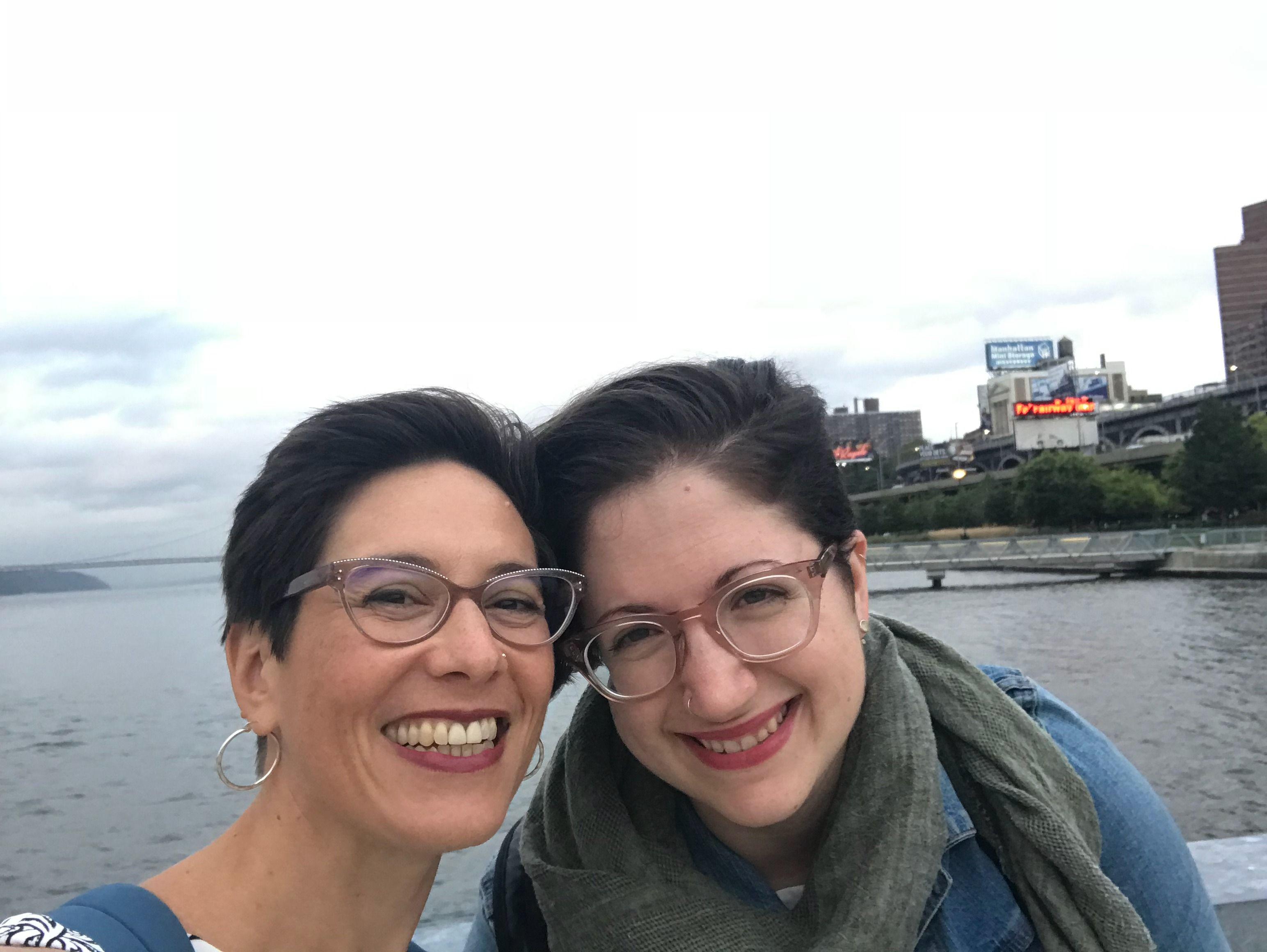 Aliza Kline and Sarit Wishnevski
