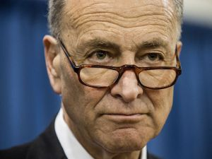 Chuck Schumer Pauses Gym Workout To Press Rand Paul On Israeli Security Aid