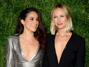 Meghan Markle (L) and Misha Nonoo attend the 12th annual CFDA/Vogue Fashion