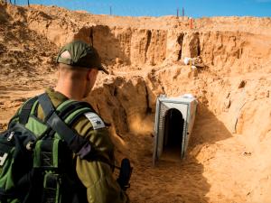 CNN Reporter Gets Rare Tour Of 'Terror Tunnels'
