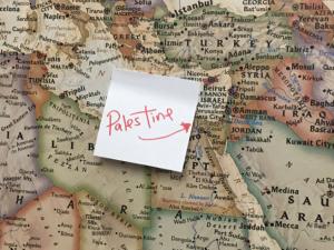 Israel Relabeled As \'Palestine\' On Rashida Tlaib\'s Map – The Forward