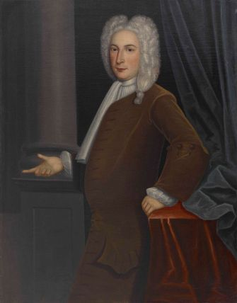 Jacob Franks (1688-1769). Painting by Gerardus Duyckinck I (1695-1746). Oil on canvas Crystal Bridges Museum of American Art, Bentonville, Arkansas.