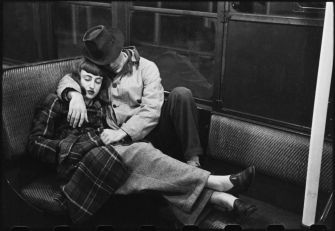"""From """"Life and Love on the New York City Subway,"""" 1947."""