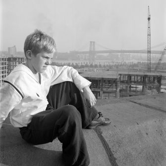 """From unpublished assignment: """"Shoeshine Boy."""""""