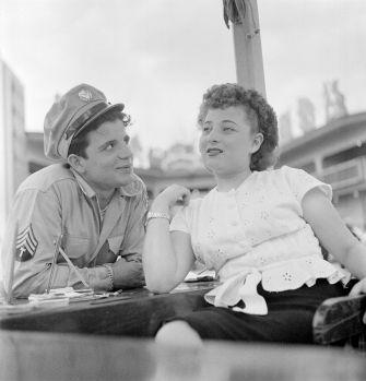 """From """"Fun at an Amusement Park: Look Visits Palisades Park,"""" 1947."""