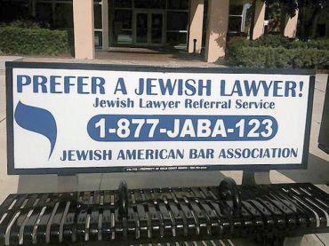 percentage of jewish lawyers in usa