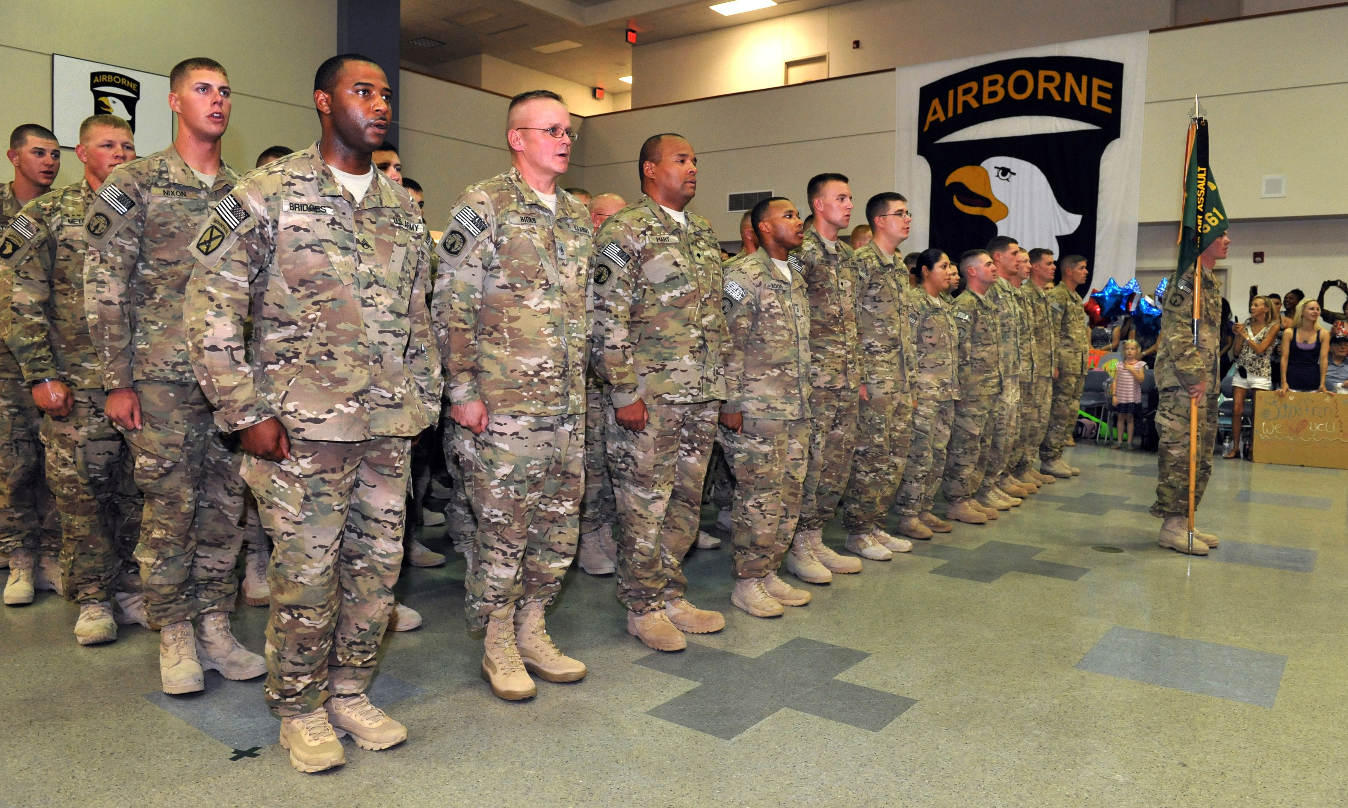 search for person at fort campbell