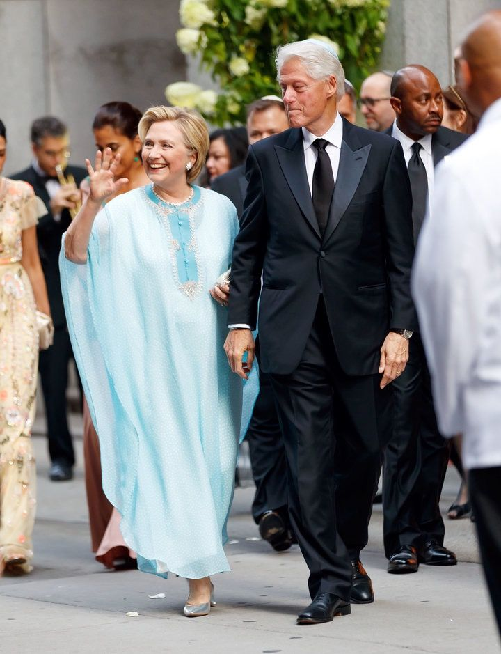 sorry vogue hillary clinton s caftan is not stylish the forward