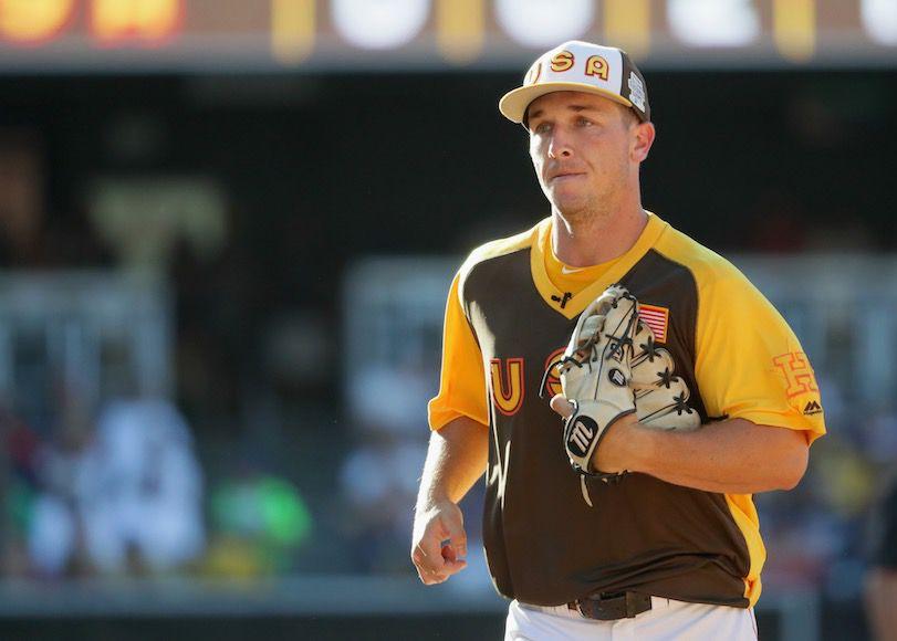 huge selection of f5281 869fa Baseball Player Alex Bregman to Make MLB Debut for Astros ...
