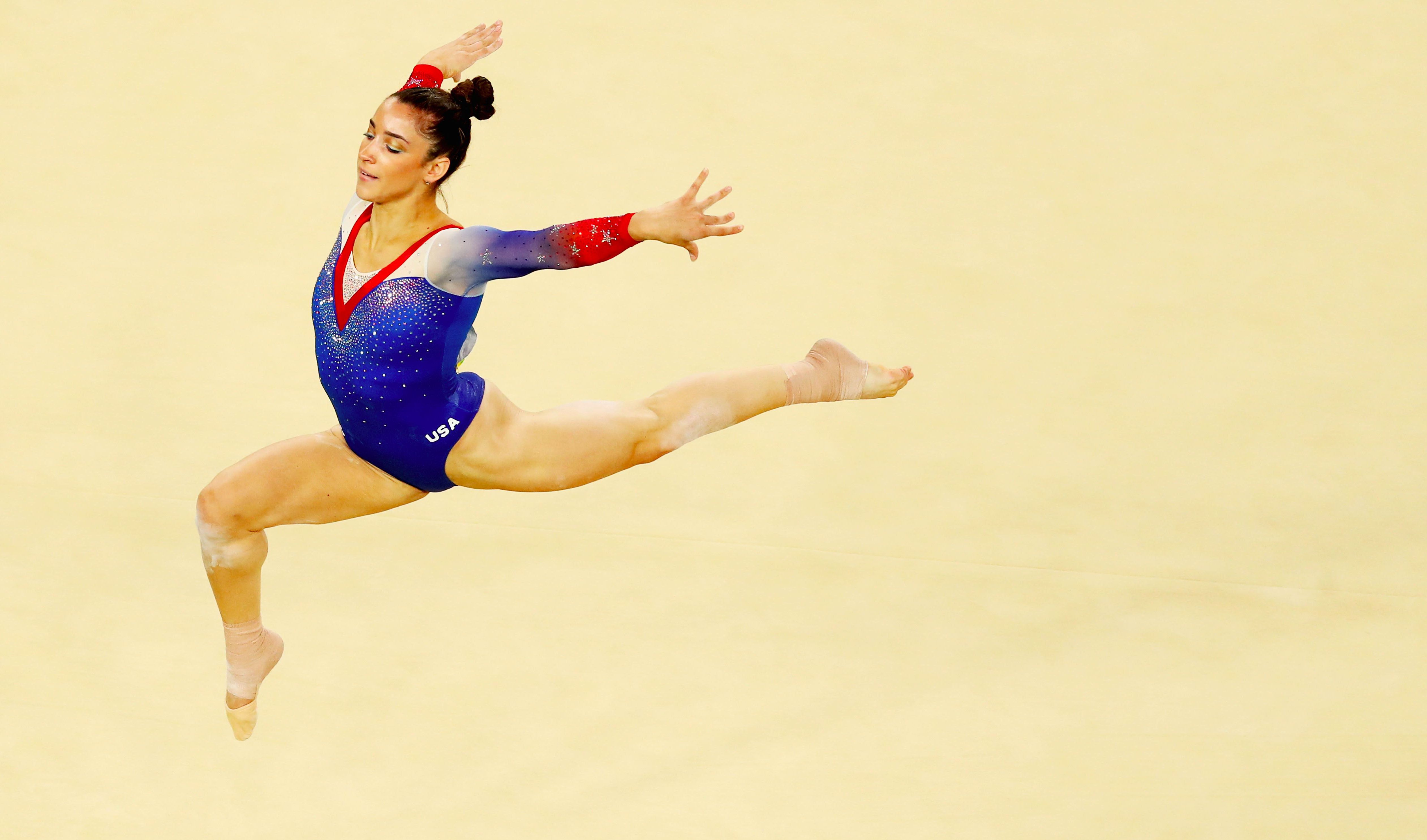 Olympic gymnastics champ aly raisman talks getting comfortable with getty images m4hsunfo