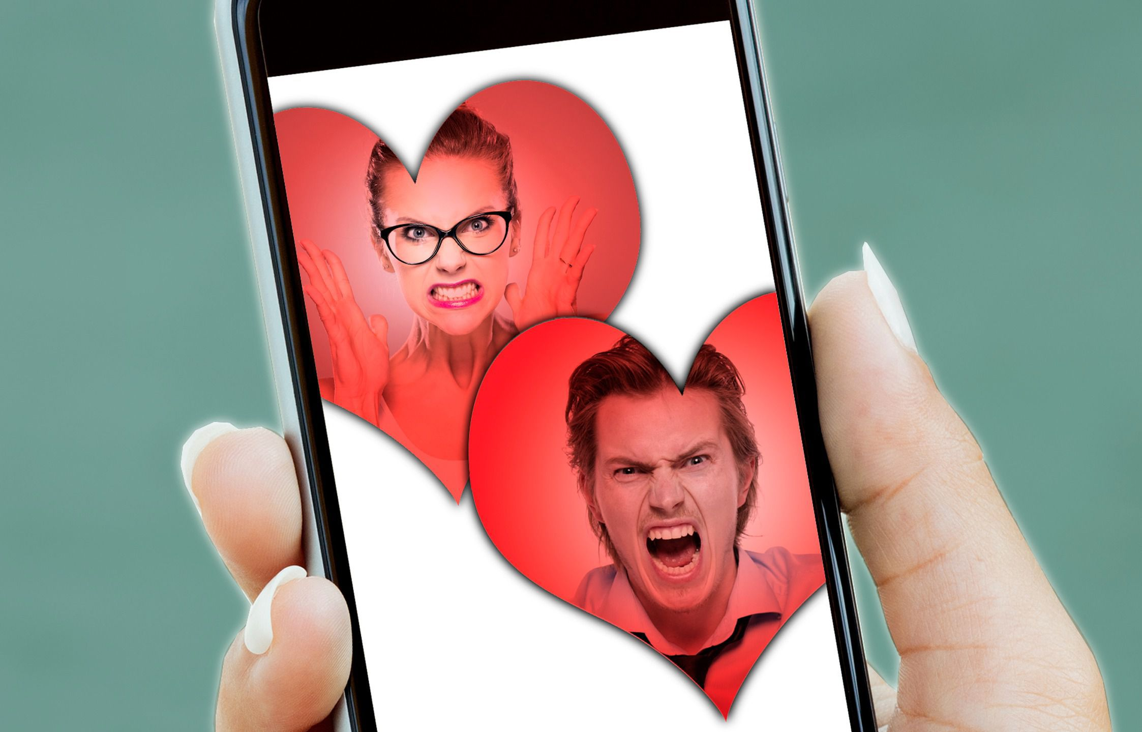 Dating app where you hate the same things
