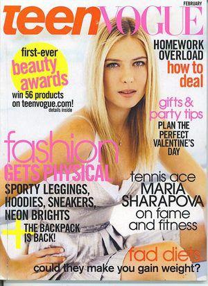 magazine Teen vogue and