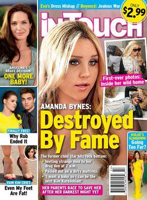 Cover of intouch magazine