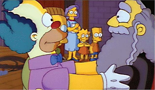 For 25 years the simpsons has been good for the jews the forward - Simpson le clown ...