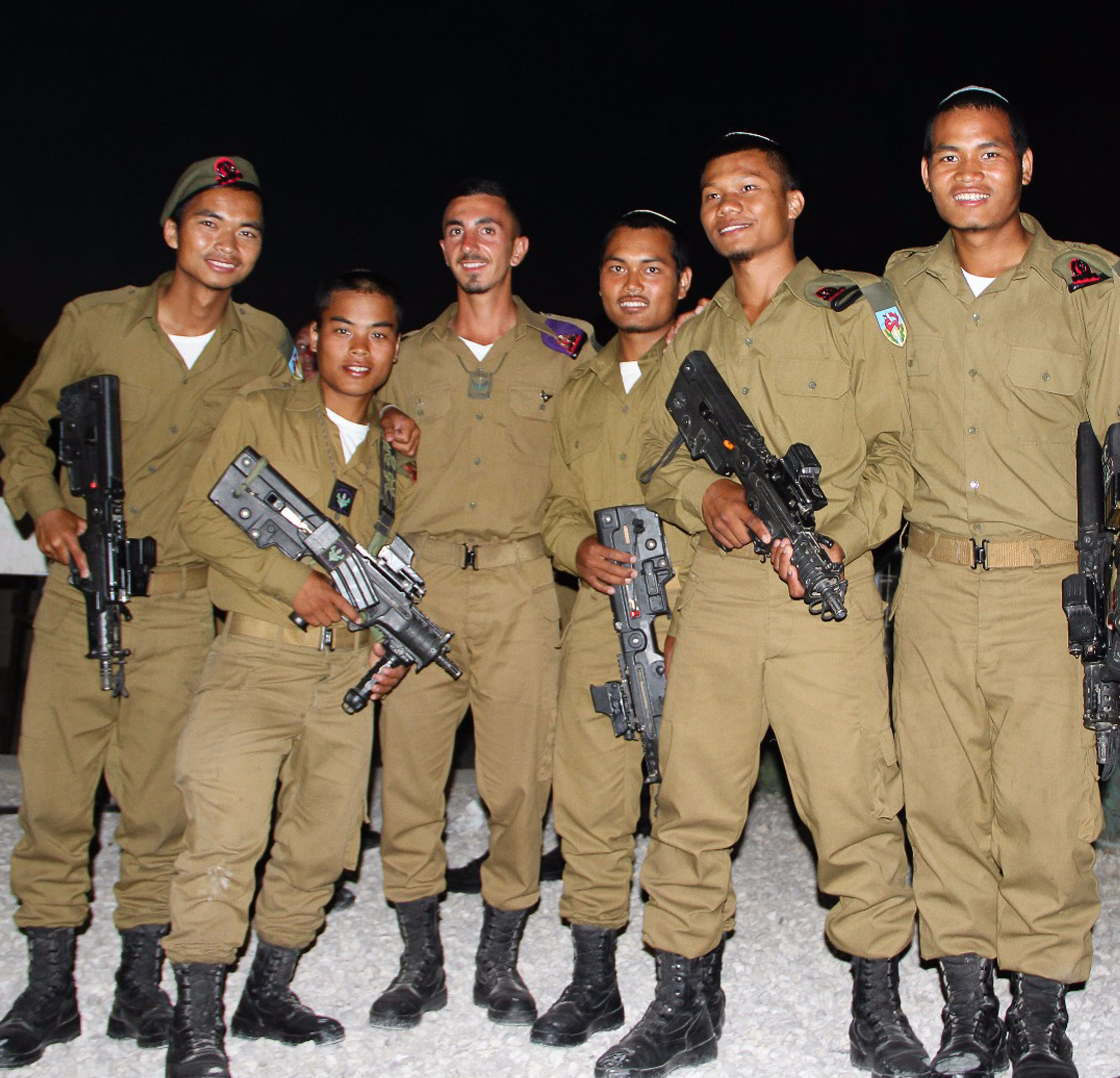 israel army inducts soldiers from indian lost tribe the forward