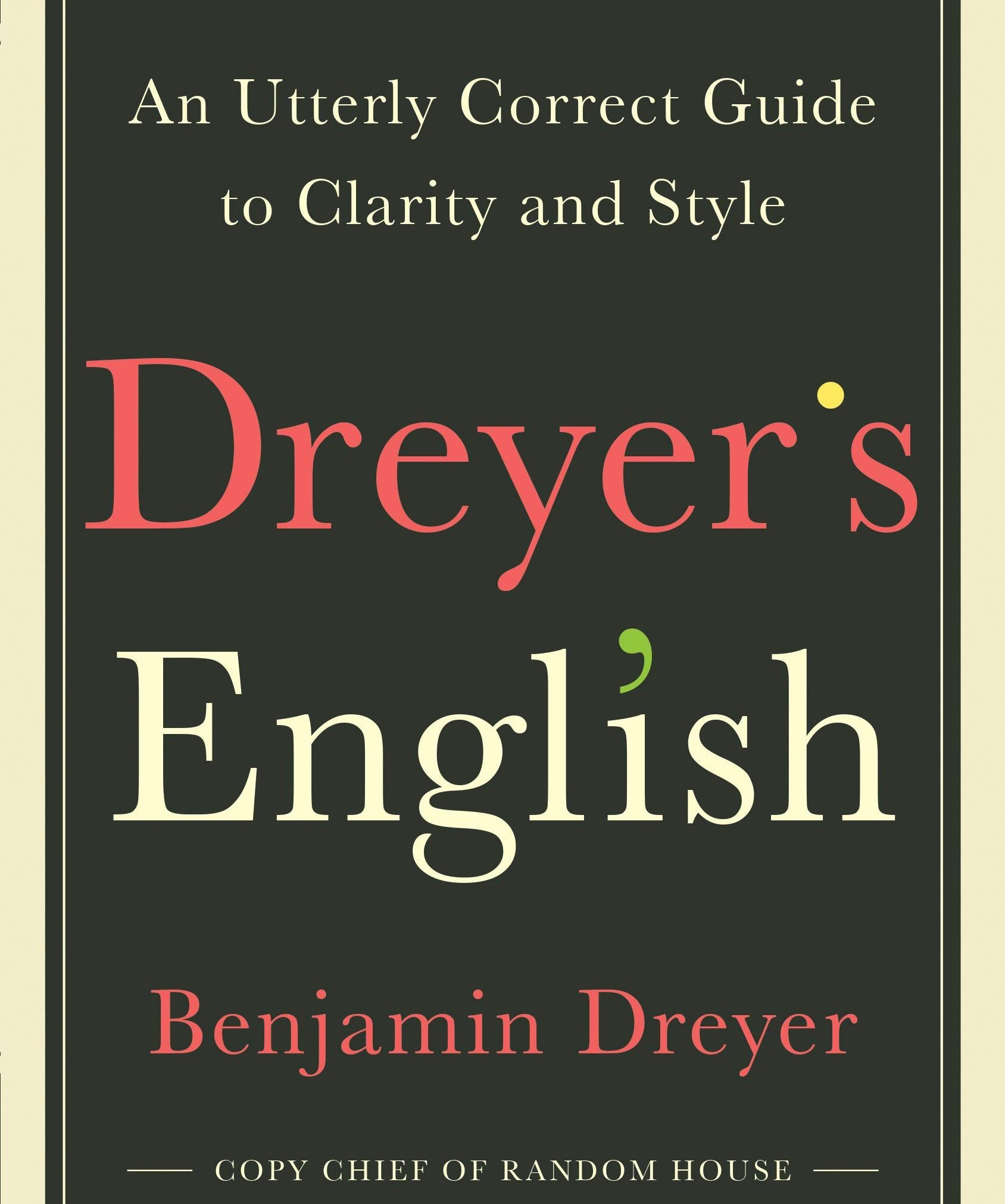 Q & A: How Benjamin Dreyer's Style Guide Ended Up An Unlikely Bestseller