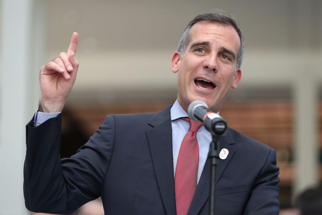 L.A. Mayor Eric Garcetti Won't Run For Governor—2020? – The Forward