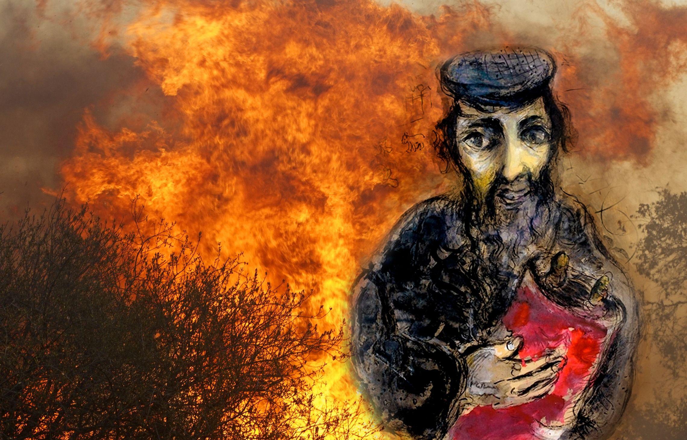 How Does A Rabbi Comfort His Congregants, After California's Fires?