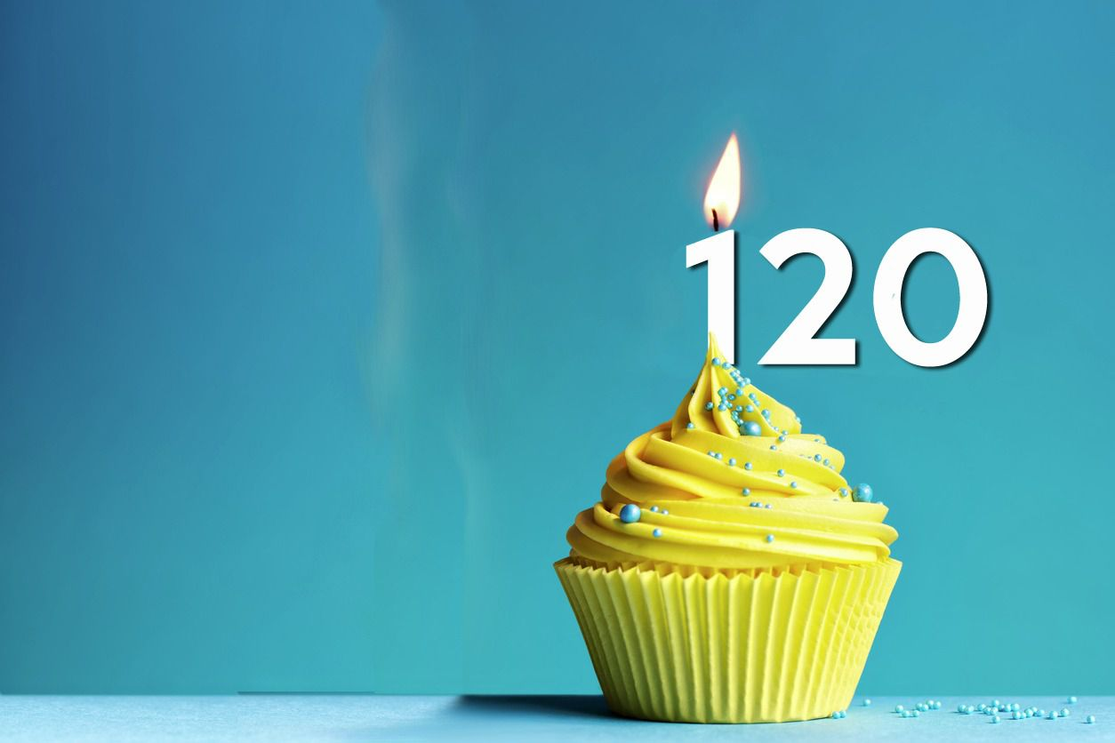 Celebrate Our 120th Anniversary With Us, All Year Long!