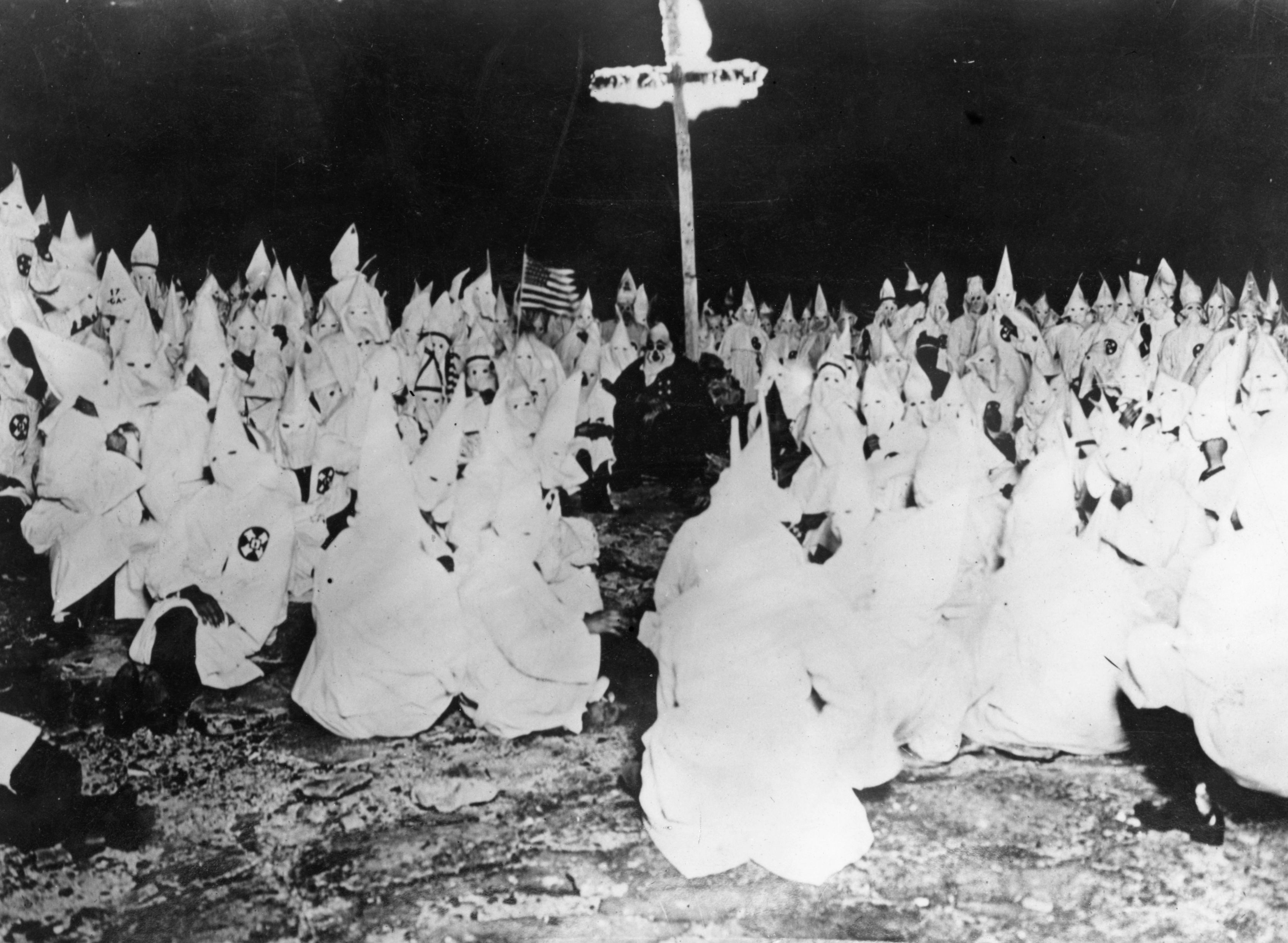 How alt right trolling has become the cross burning of the a midnight meeting of the ku klux klan in 1922 biocorpaavc Images