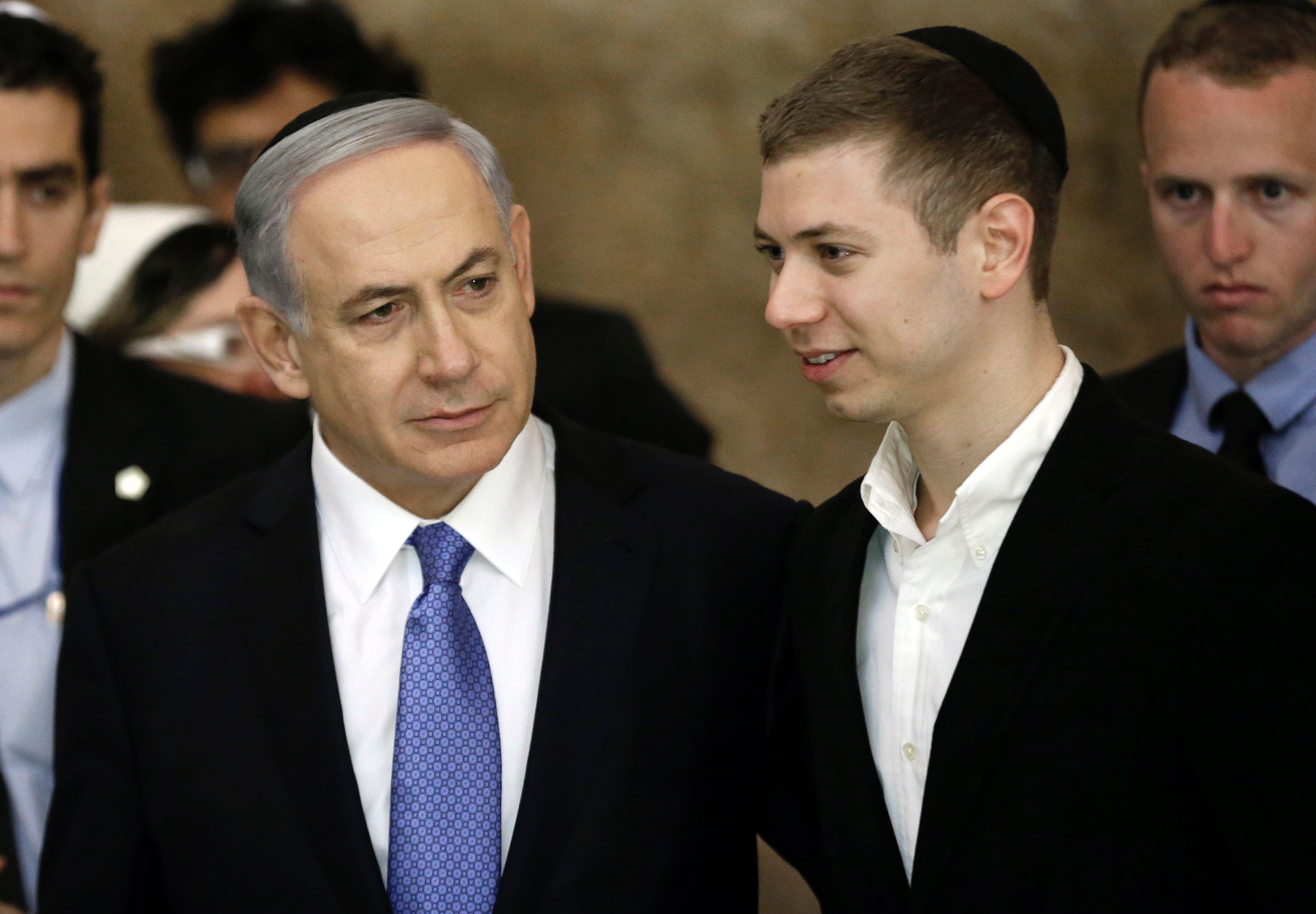Benjamin netanyahus son dating mother
