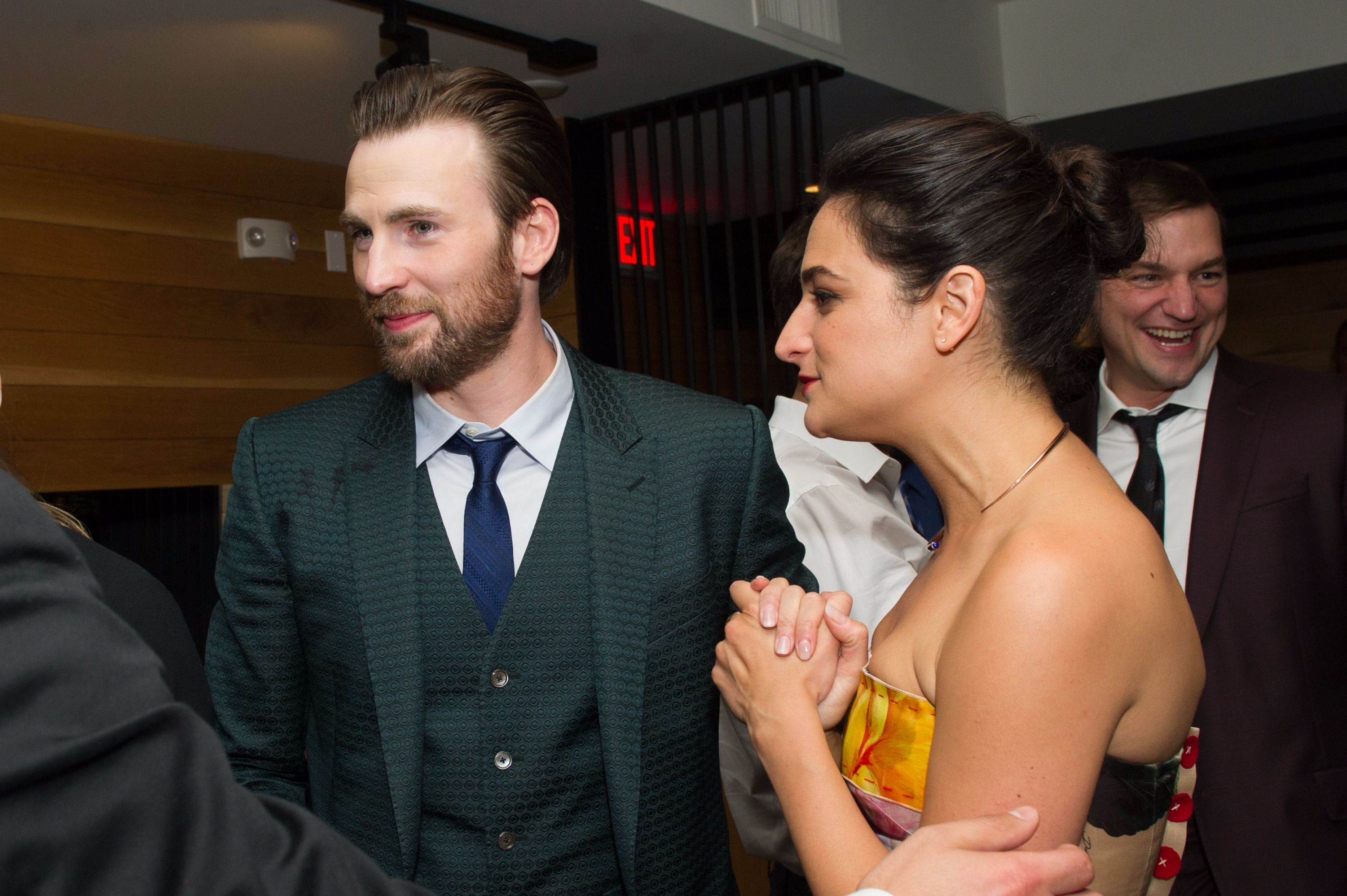 Is chris evans dating someone new