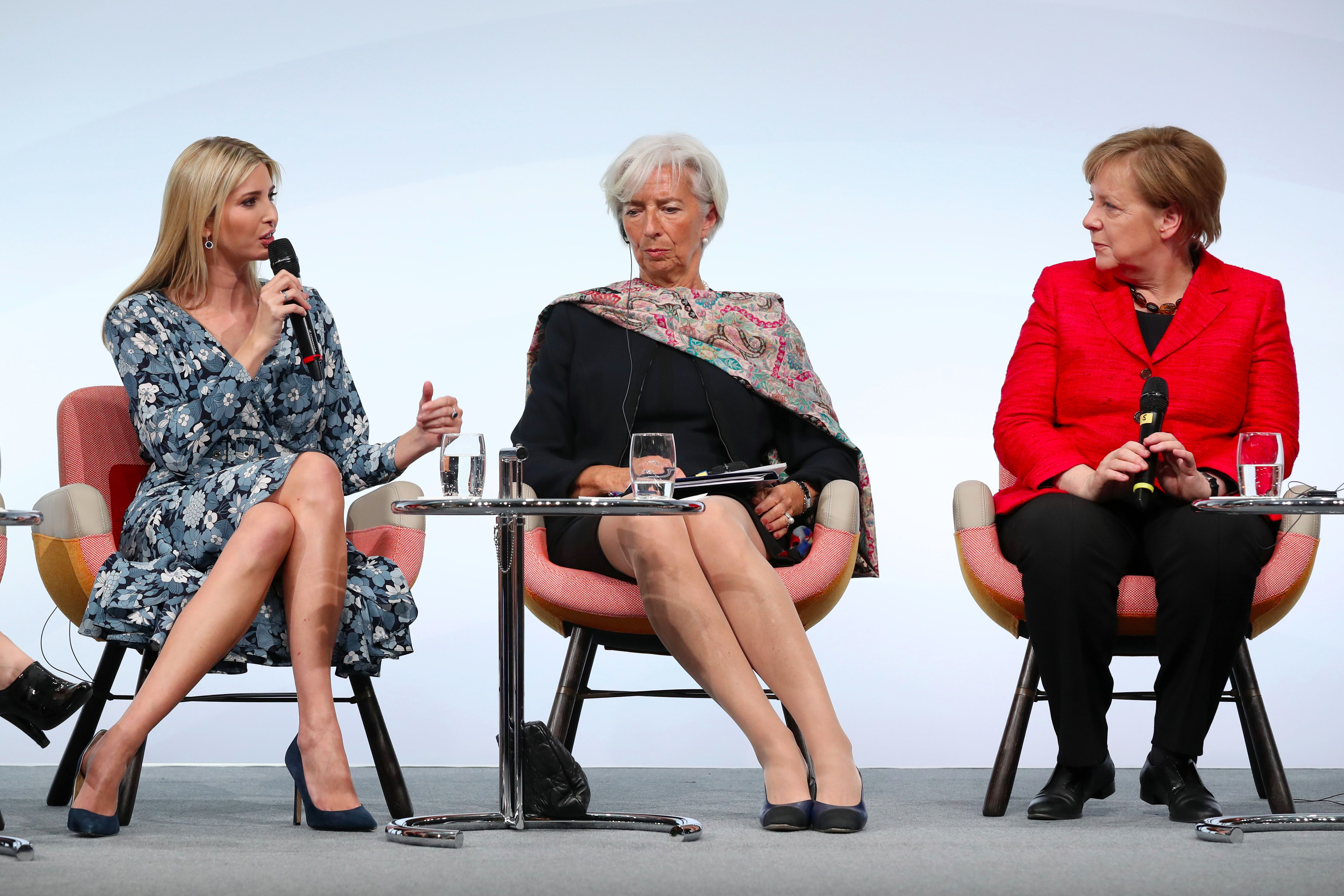 Ivanka Trump Called Out At W20 In Berlin – The Forward