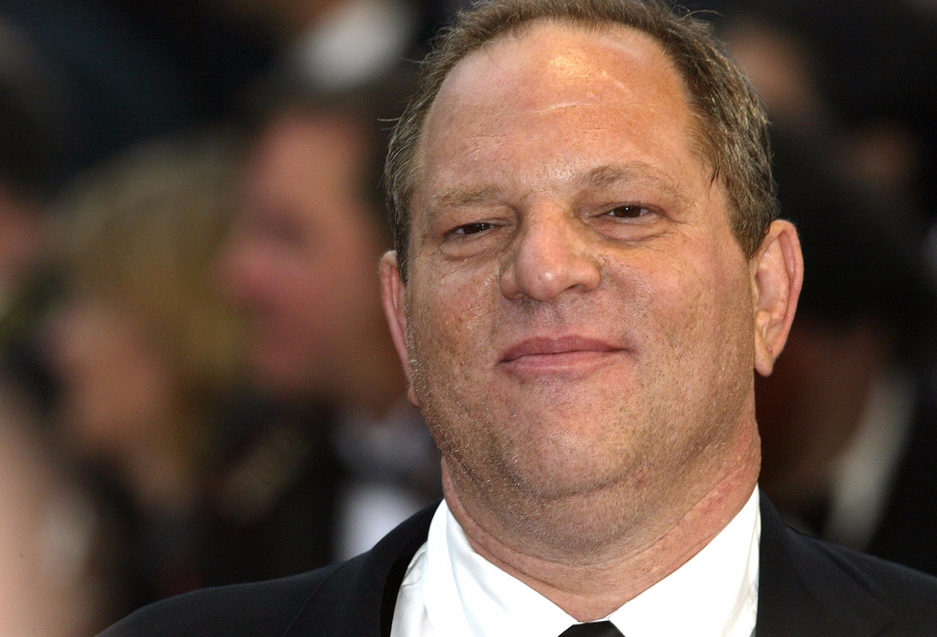Harvey weinstein probed for embezzling studio funds the forward harvey weinstein in 2004 stopboris Image collections