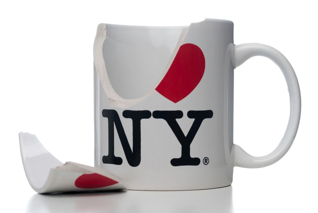 The I Heart NY Logo Was Appropriated To Court Amazon Its Jewish Designer Is Not Pleased