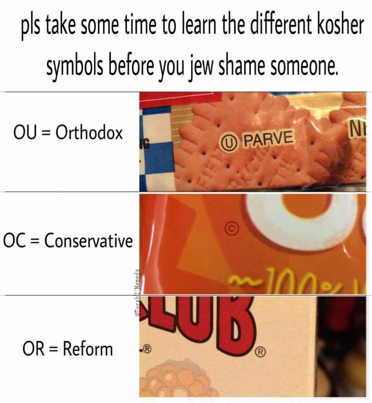 Is Kashrut Symbols Meme Funny Forward Editors Weigh In The Forward