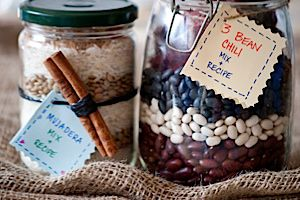 edible gifts healthy recipes in a jar