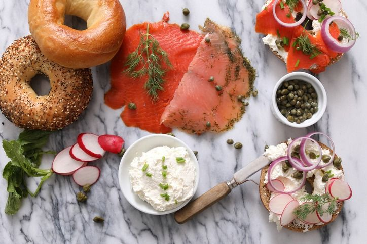 Bagels And Lox Spread