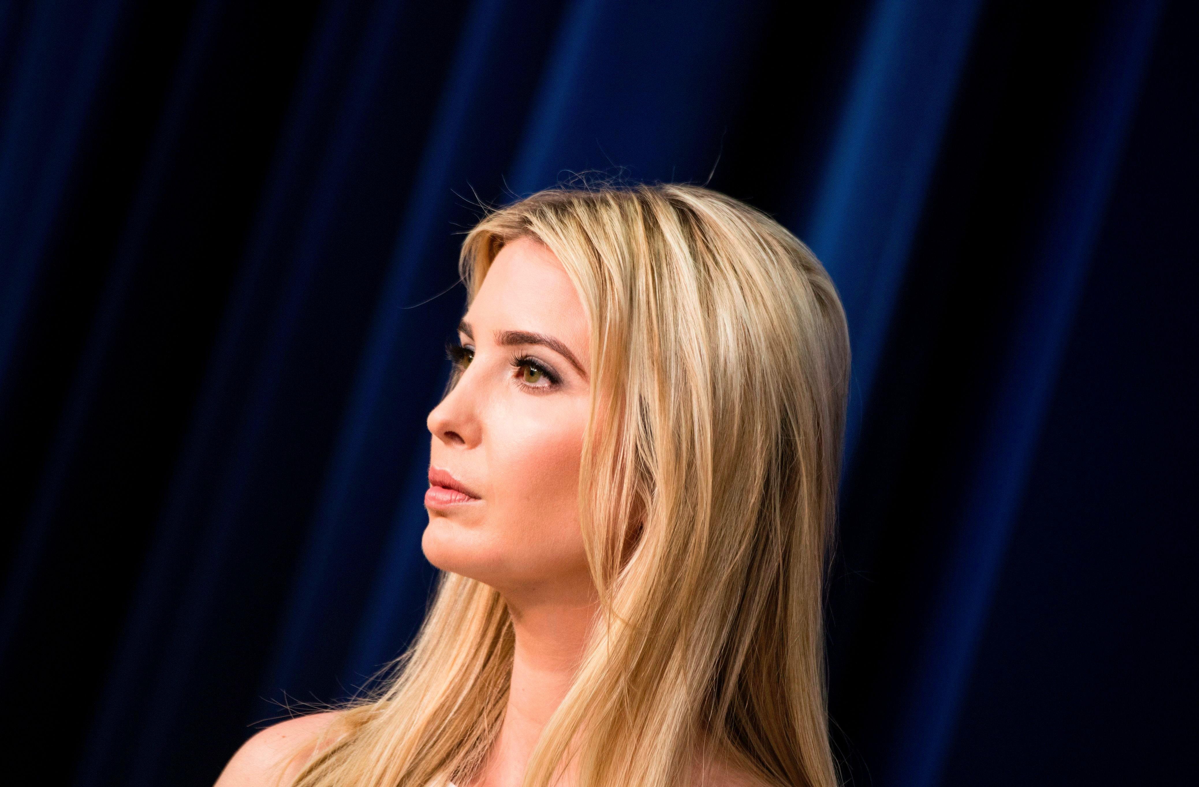 Did ivanka skip white house easter egg roll because shes jewish getty images negle Gallery