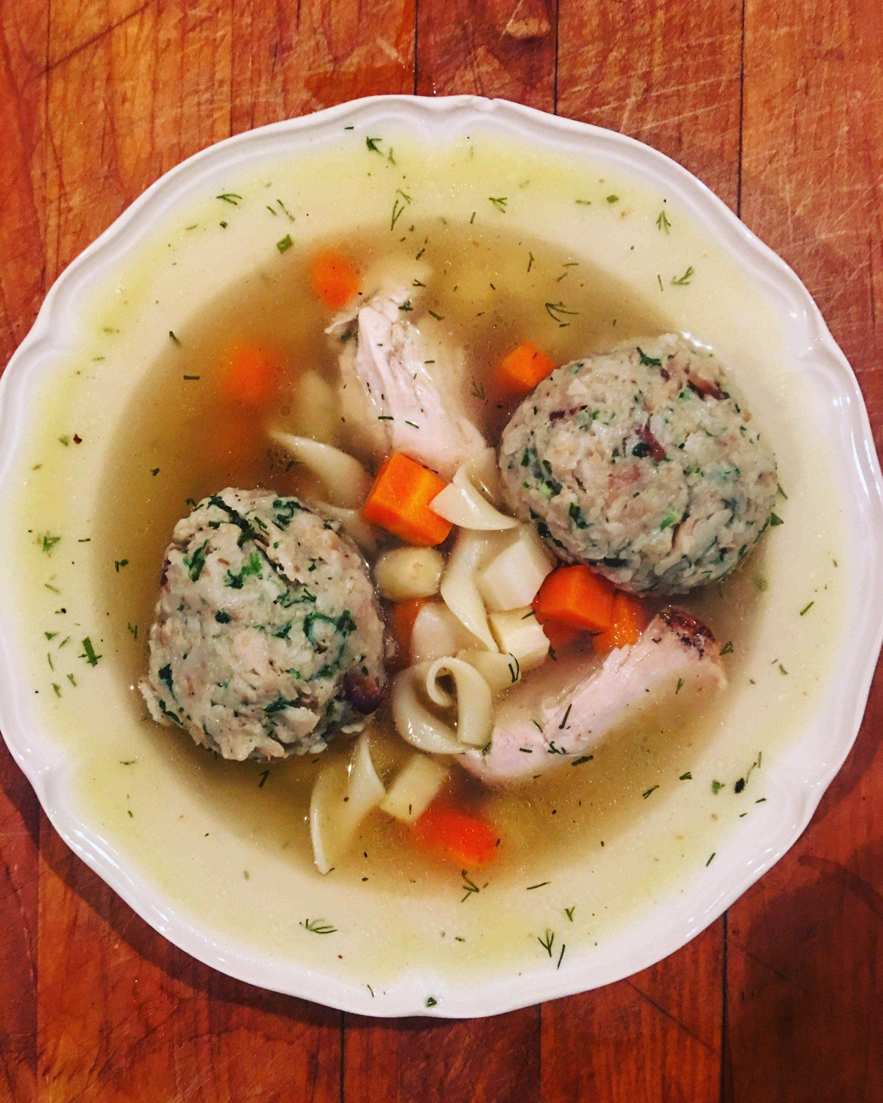 Toronto upscale diner converting to jewish deli the forward matzo ball soup forumfinder Images