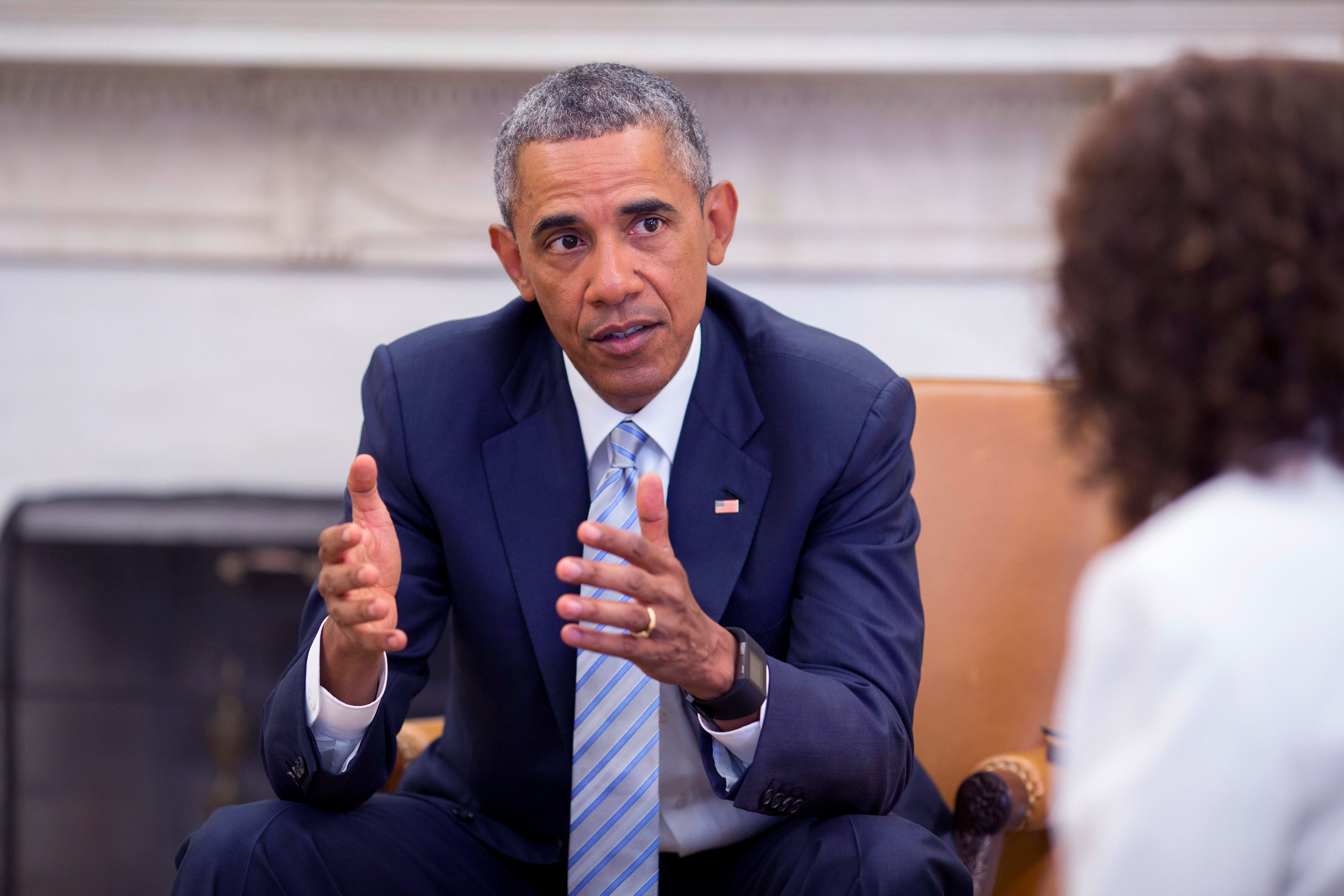 Ex-President Barack Obama spoke passionately about American Jews in an Historic Interview with the Forward. (Image Source: The Forward)