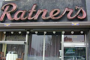 Old School Ratners Dairy Restaurant Was A Staple Of The New York Jewish Scene For
