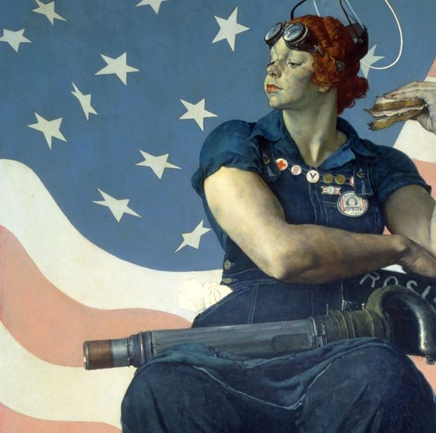 The Secret Jewish History Of Rosie The Riveter The Forward