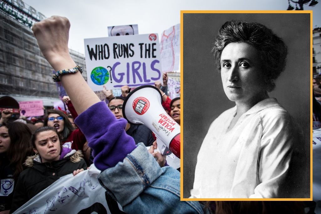The Secret Jewish History Of International Women's Day by the Forward