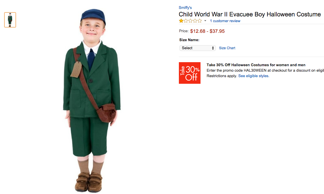 Screenshot Amazon  sc 1 st  The Forward & How Not to Dress Your Kids as Jewish Stereotypes for Halloween u2013 The ...