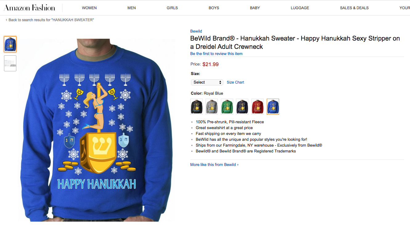 How To Wear Hanukkah Swag Without Offending Anyone The Forward