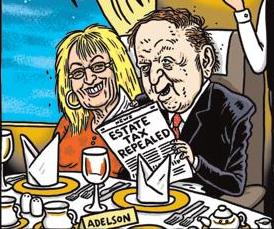 Image result for Sheldon Adelson CARTOON
