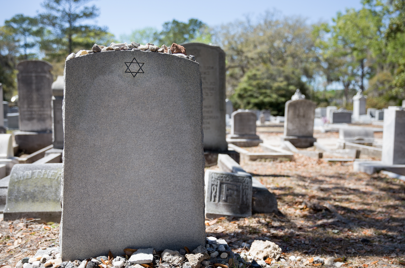 Headstones Pushed Over At New Jersey Jewish Cemetery The Forward