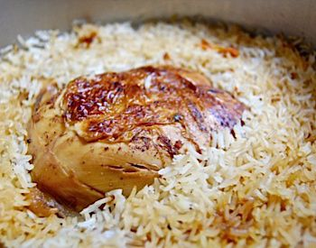 Fragrant iraqi chicken and rice the forward fragrant iraqi chicken and rice forumfinder Images