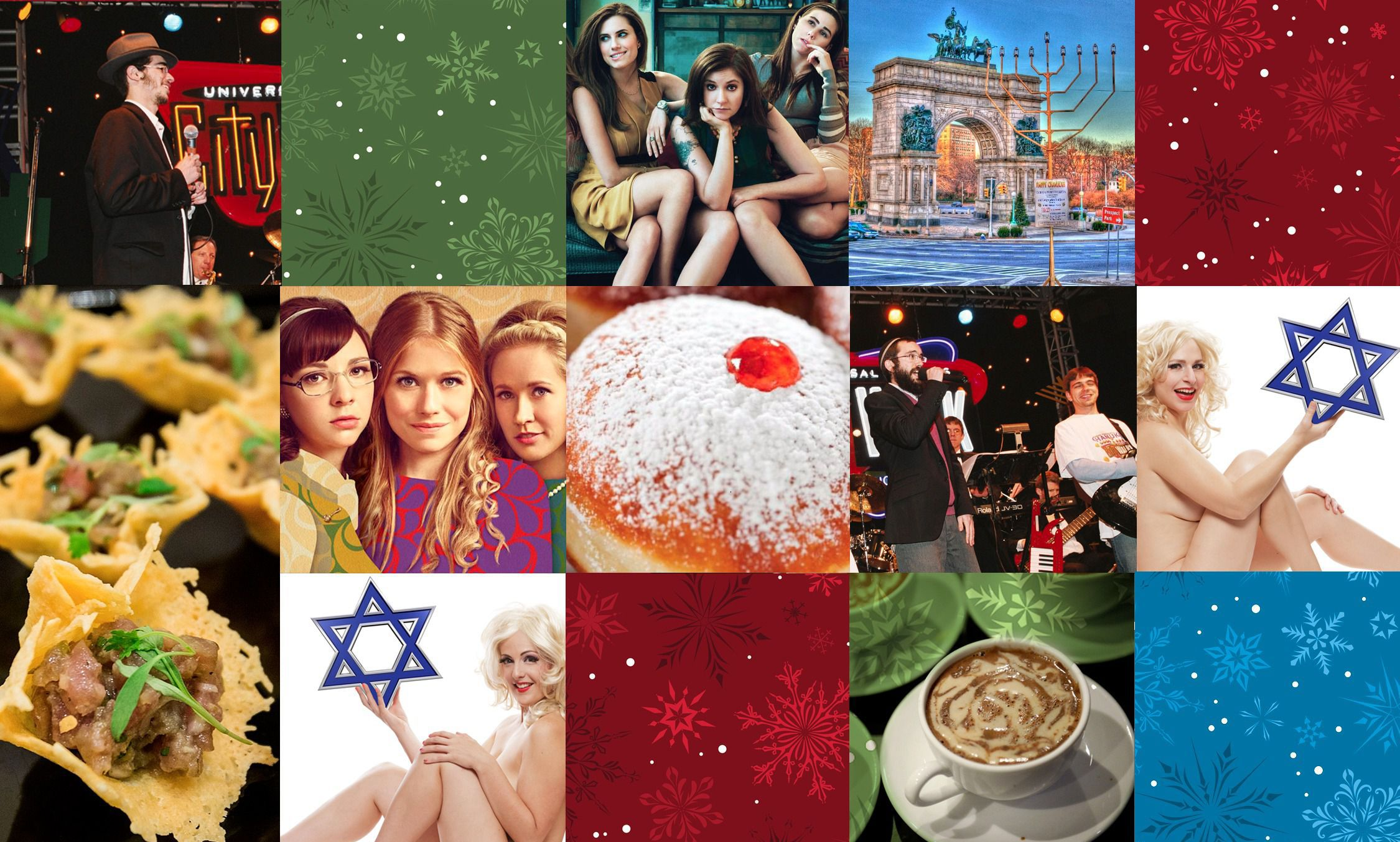 39 Things for Jews To Eat, Watch, Read and Do on Chrismukkah