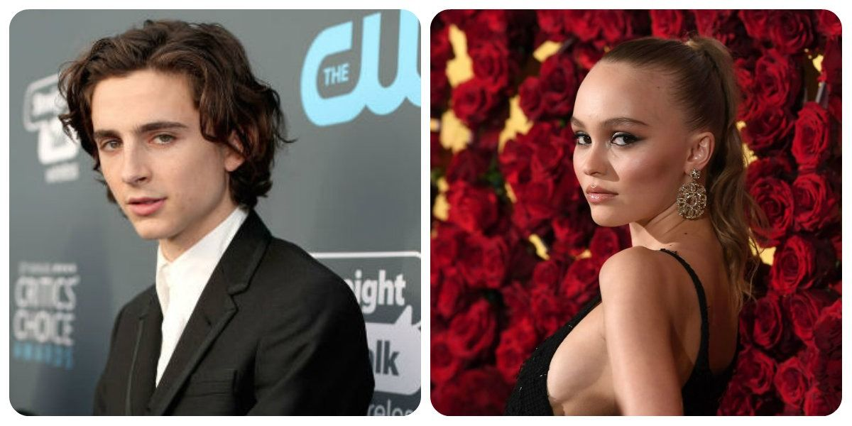 Timothée Chalamet And Lily-Rose Depp Seen Canoodling In New York City