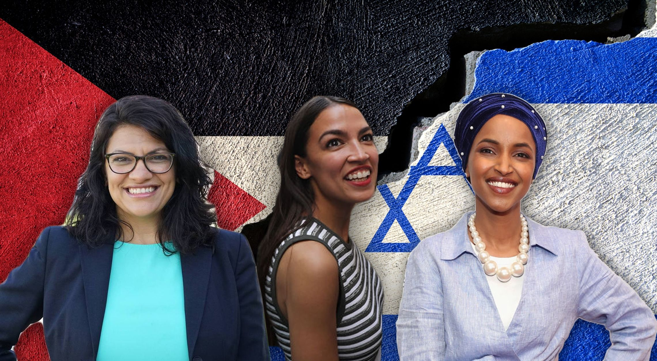 Image result for Ocasio-Cortez defends Ilhan Omar's tweets about Israel