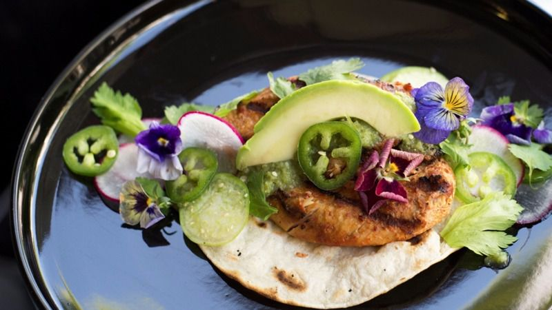 Mexikosher A New Manhattan Restaurant Whose En Taco Is Pictured Here