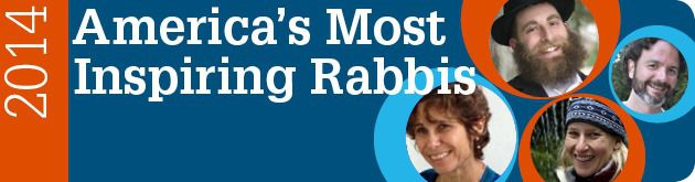 America's Most Inspiring Rabbis 2014